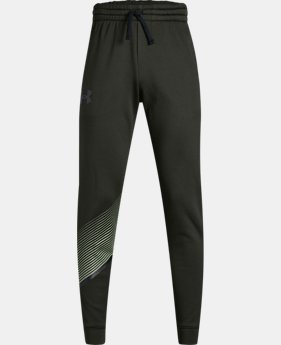 Boys' Armour Fleece® Joggers LIMITED TIME ONLY 3  Colors Available $35