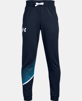 Boys' Armour Fleece® Joggers  2  Colors Available $50