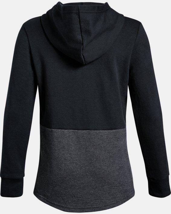 Boys' UA Double Knit Hoodie, Black, pdpMainDesktop image number 1
