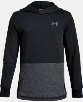 New Arrival Boys' UA Double Knit Hoodie  1  Color Available $45