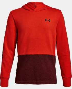 Boys' UA Double Knit Hoodie  1  Color Available $41.99