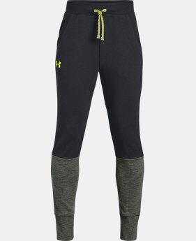 Boys' UA Double Knit Pants - Tapered  4  Colors Available $45