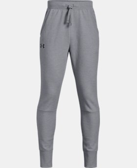 Boys' UA Double Knit Pants - Tapered  4  Colors Available $55