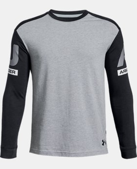 Boys' UA Sportstyle Crew  2  Colors Available $30