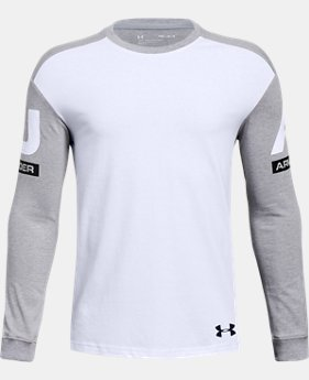 Boys' UA Sportstyle Crew  1  Color Available $30
