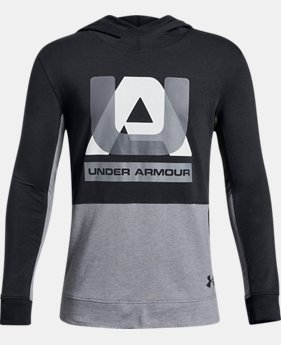 Boys' UA Sportstyle Hoodie  1  Color Available $35