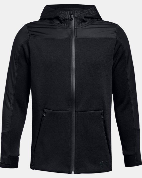 Boys' UA Swacket, Black, pdpMainDesktop image number 0
