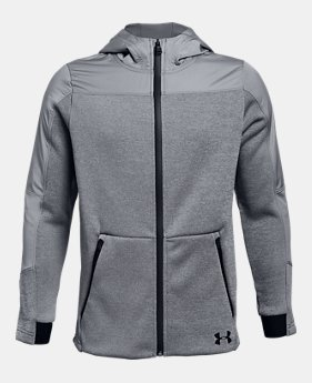 62e080aa74 Boys' Gray Outlet Jackets & Vests | Under Armour US