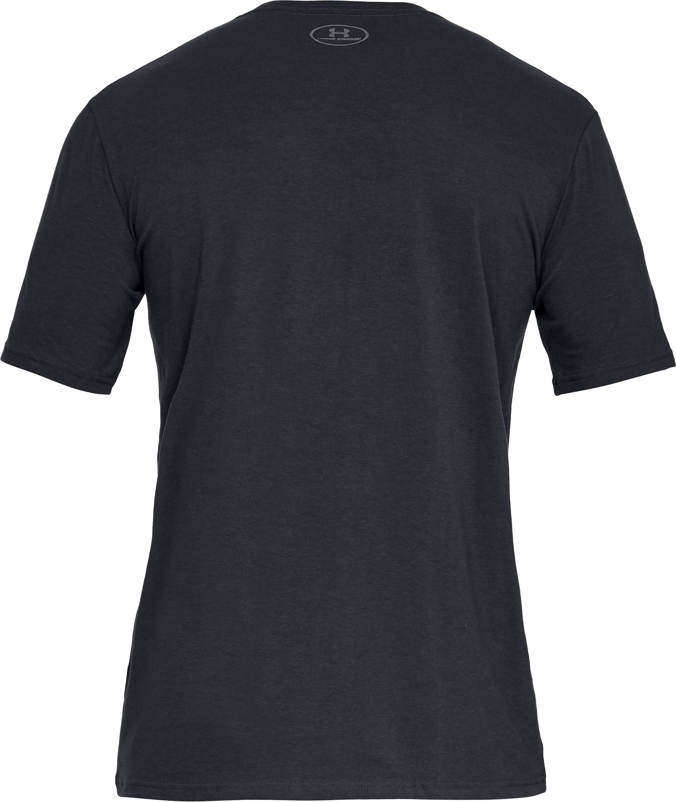 Men's UA Hunt Logo T-Shirt, Black ,