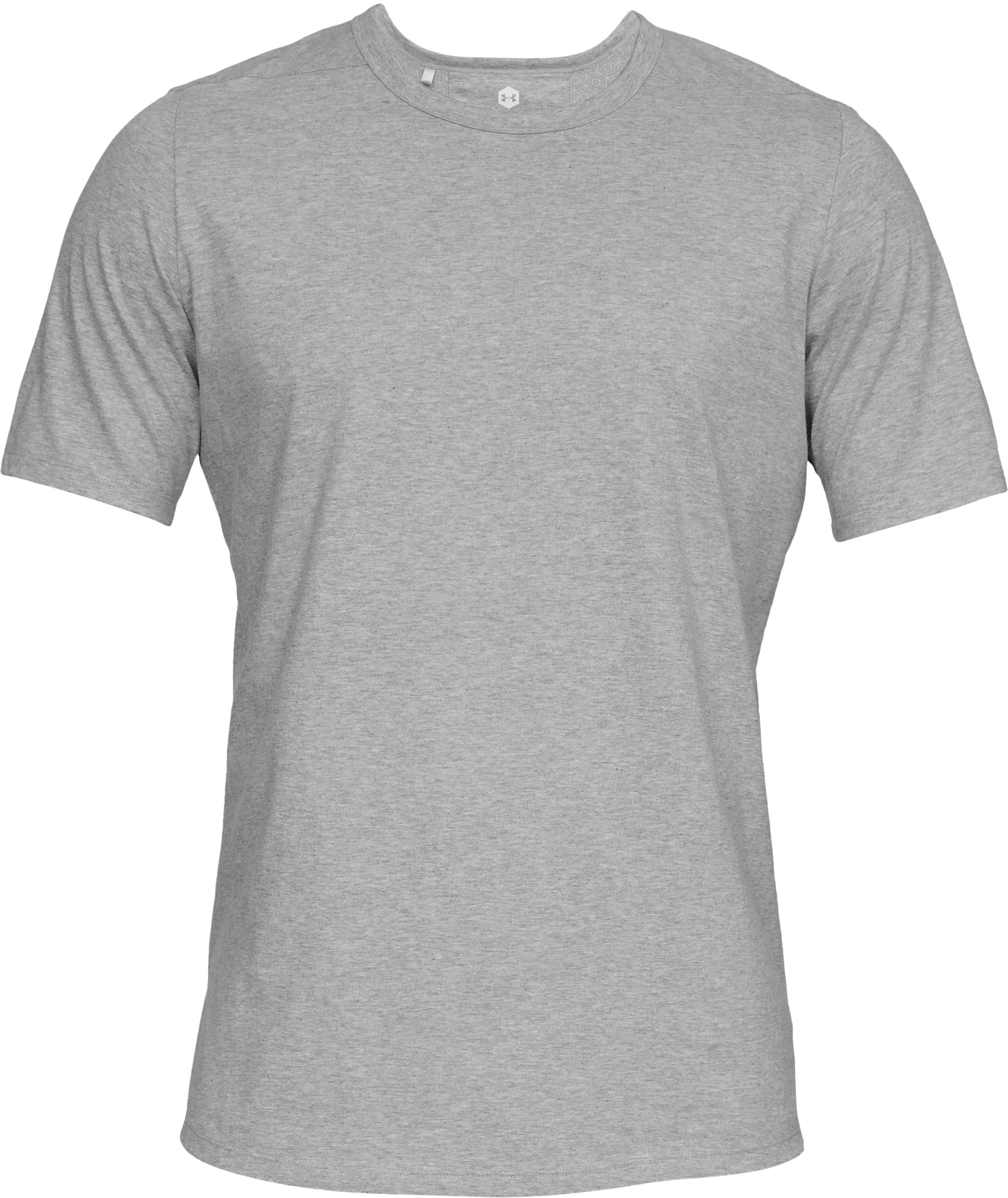 Men's Athlete Recovery T-Shirt, Performance Gray,