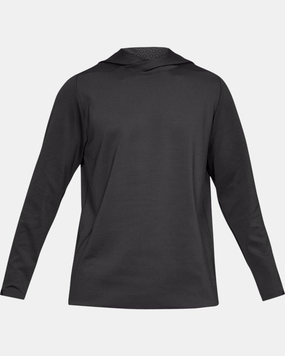 Men's UA RECOVER™ Track Suit Elite Hoodie, Gray, pdpMainDesktop image number 4