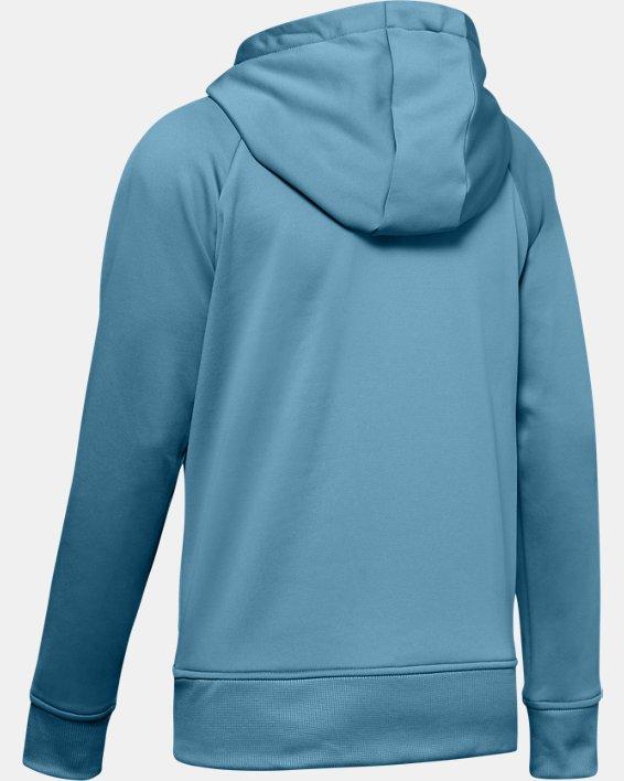 Women's Armour Fleece® Hoodie, Blue, pdpMainDesktop image number 5