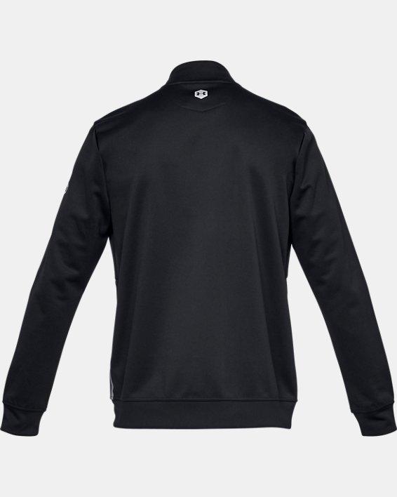 Men's UA RECOVER™ Track Suit Jacket, Black, pdpMainDesktop image number 4