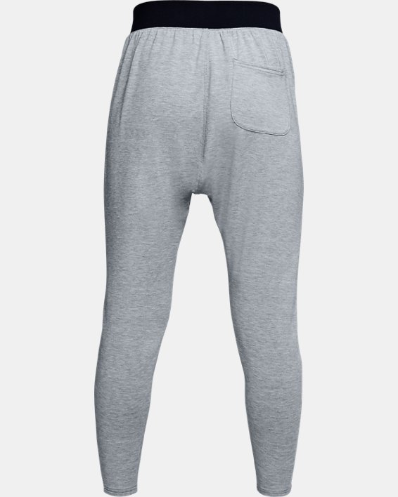 Women's UA Modal Terry Tapered Slouch Pants, Gray, pdpMainDesktop image number 4