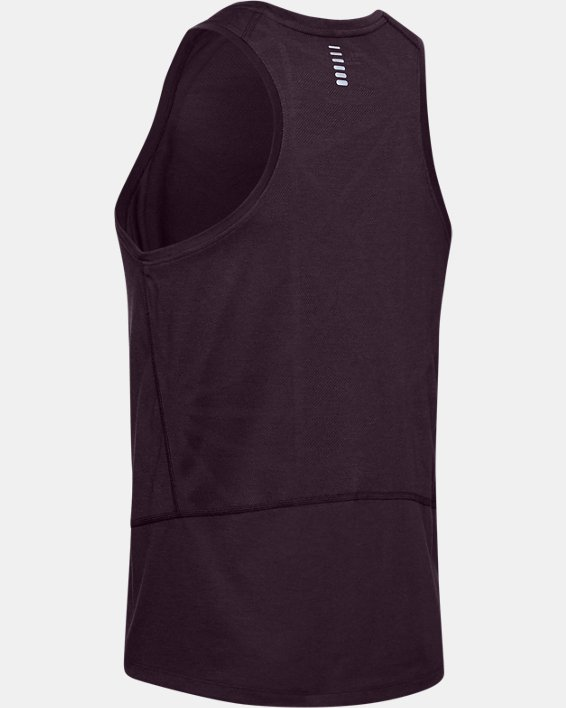Men's UA Swyft Singlet, Purple, pdpMainDesktop image number 5