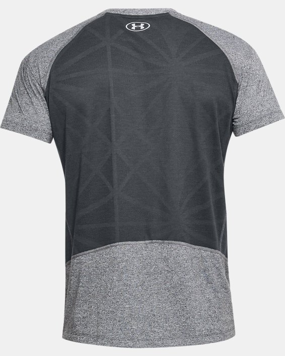 T-shirt UA Microthread Swyft pour homme, Gray, pdpMainDesktop image number 5