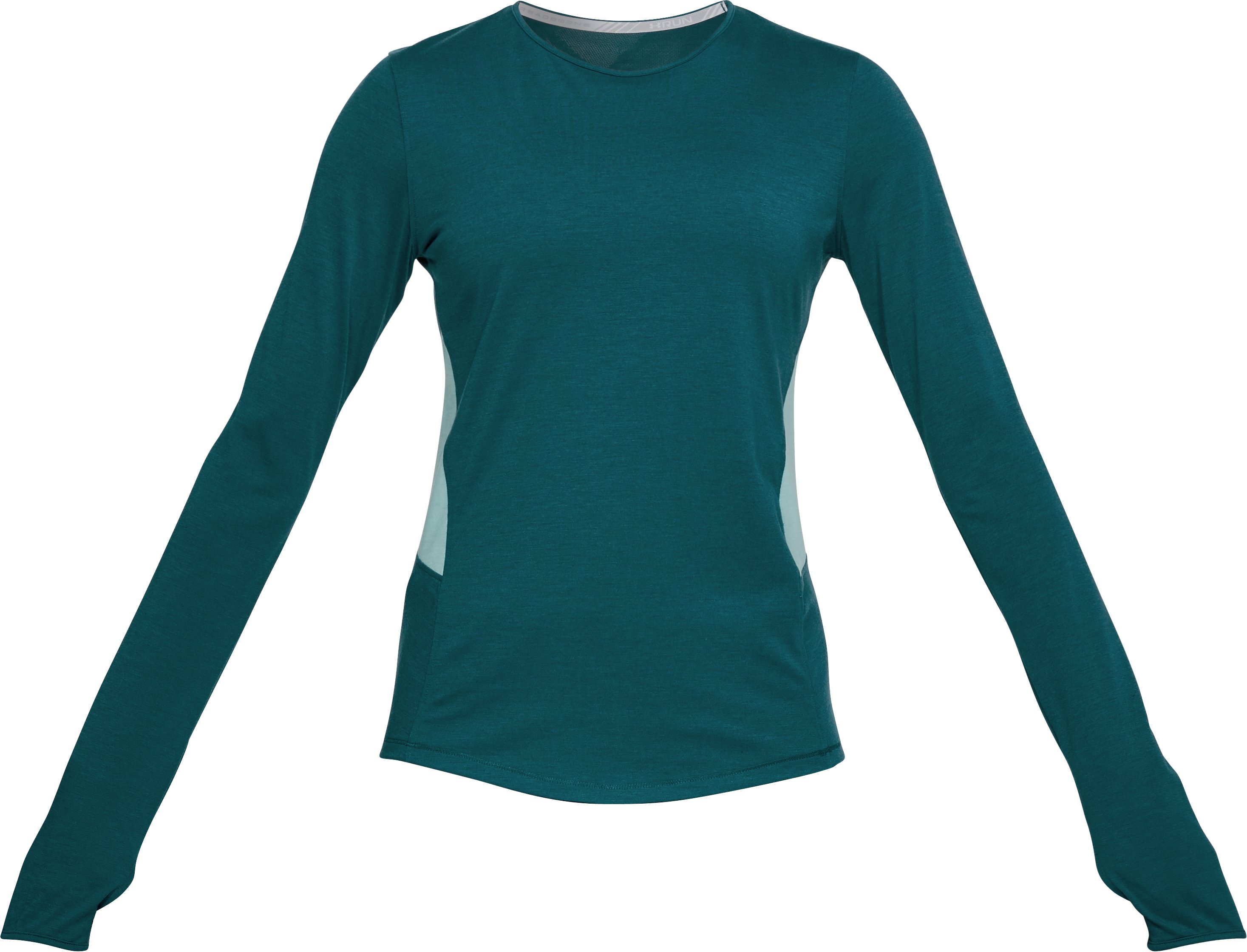 Women's UA Swyft Long Sleeve, TOURMALINE TEAL,