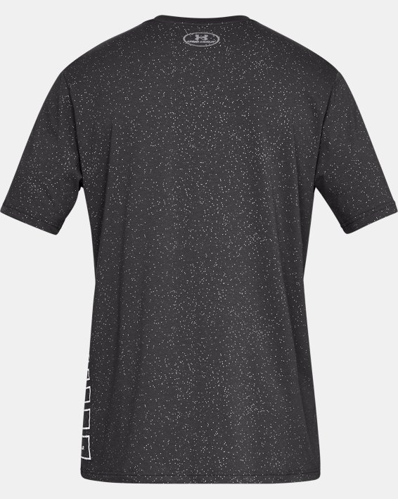 Men's UA Speckle Print Short Sleeve T-Shirt, Gray, pdpMainDesktop image number 5