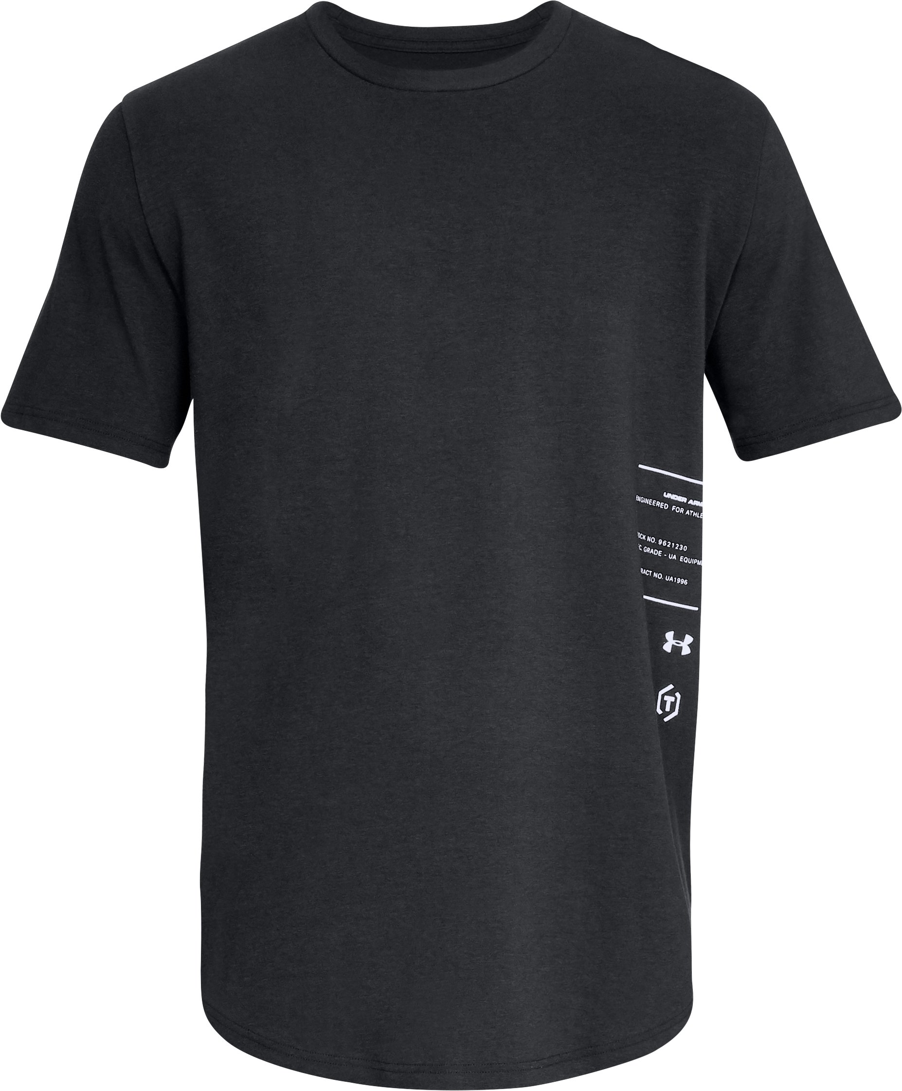 Men's UA Made For Athletes Short Sleeve T-Shirt, Black ,