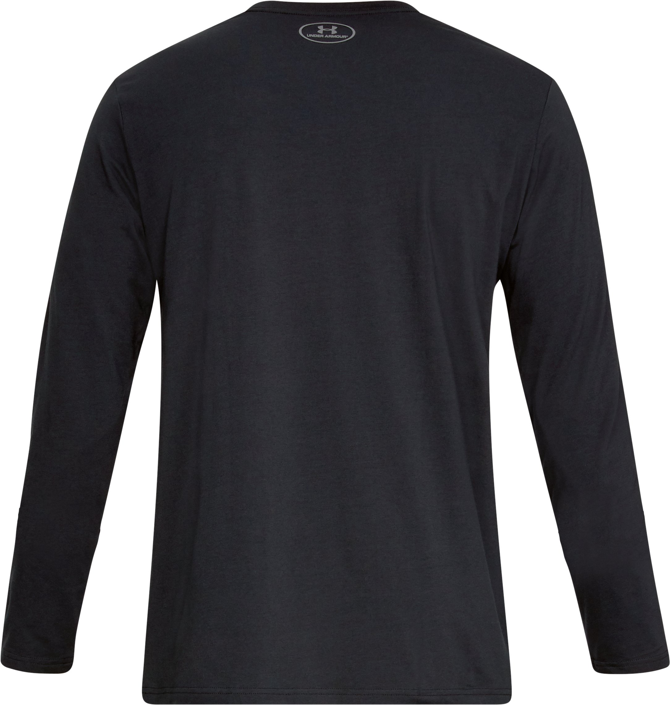 Men's UA Boxed Sportstyle Long Sleeve, Black ,