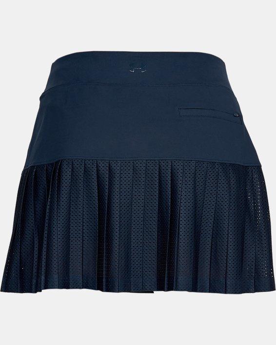 Women's UA Links Knit Mesh Skort, Navy, pdpMainDesktop image number 5