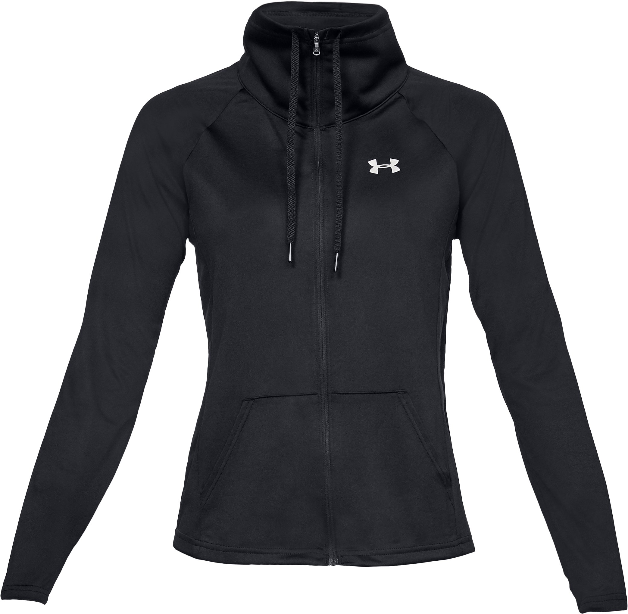 Women's UA Tech™ Full Zip, Black ,