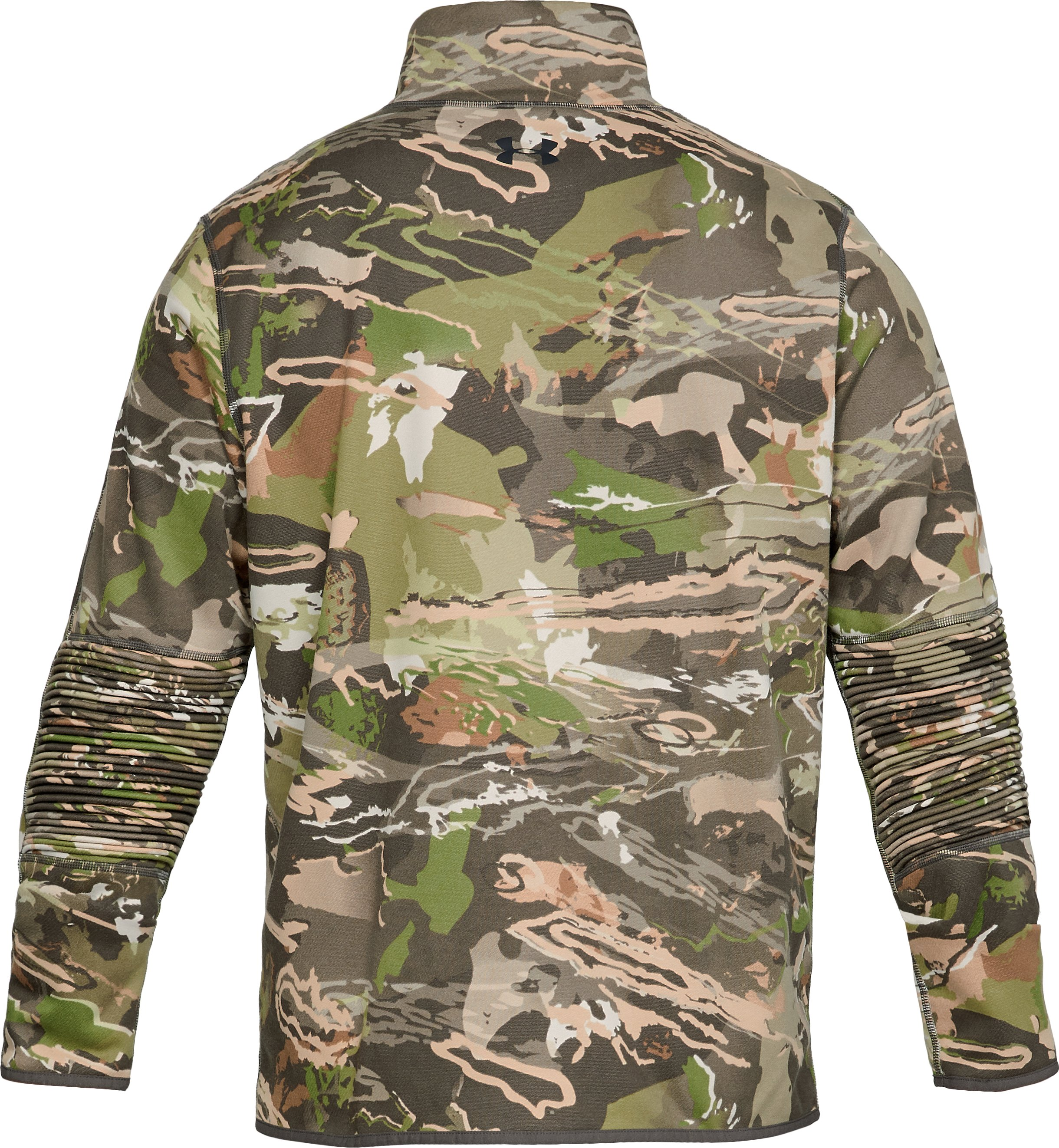 Men's UA Rut Fleece Full Zip Jacket, UA Forest Camo,
