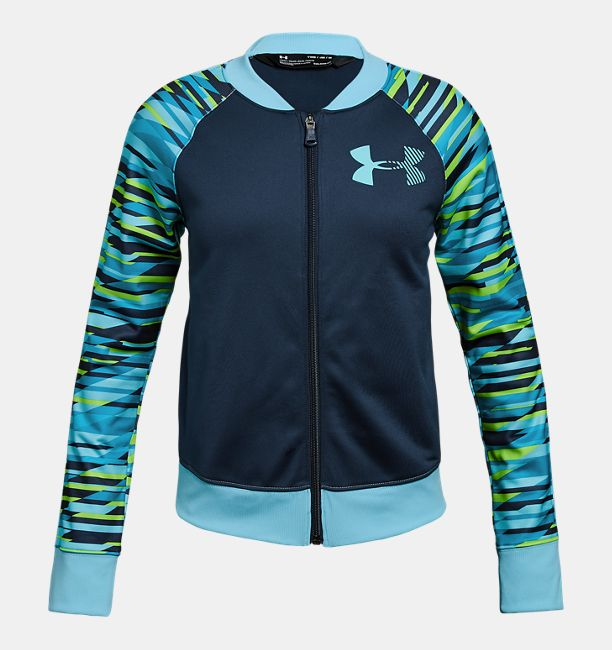 4ebd46cfd6 Girls' UA Track Jacket - Graphic