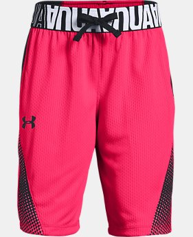 New Arrival  Girls' UA Fade Away Shorts   $35