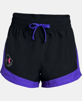Girls' UA SPWW Sprint Shorts  1  Color Available $25