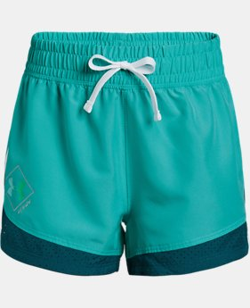 New Arrival Girls' UA Run Shorts LIMITED TIME: FREE U.S. SHIPPING 1 Color $25