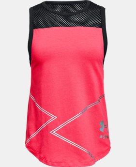 New Arrival Girls' UA SPWW Tank  2  Colors $30