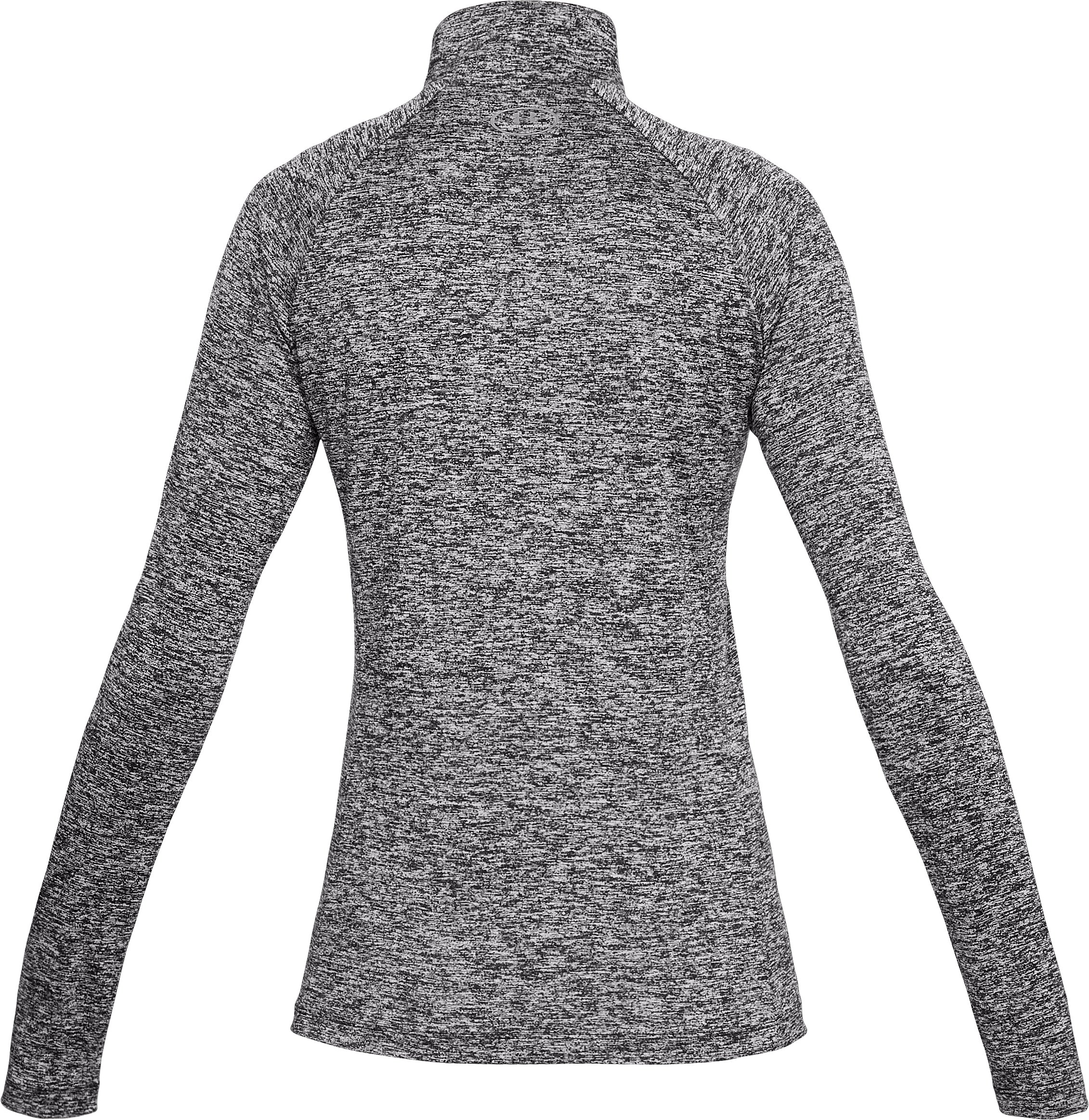 Women's UA Tech™ Twist ½ Zip, Black ,