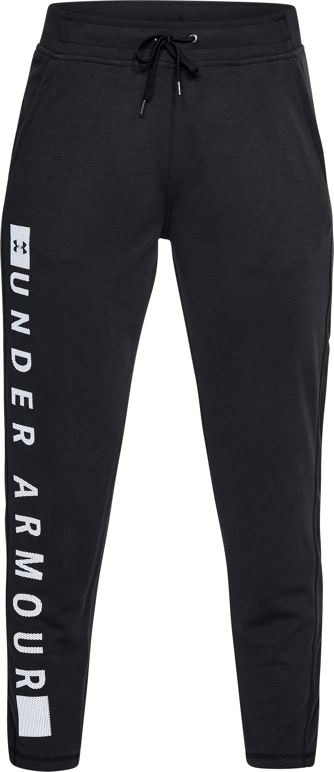 Women's UA Siro Graphic Pants, Black ,