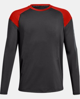 New Arrival Boys' UA Raid Long Sleeve FREE U.S. SHIPPING 2  Colors Available $30