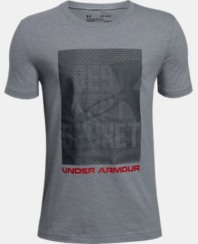New Arrival Boys' UA Lenticular Best Kept T-Shirt  1 Color $25