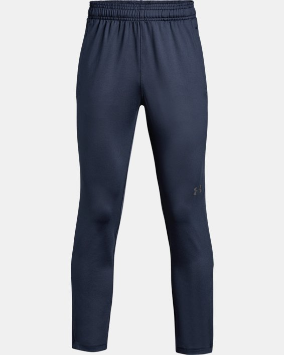 Boys' UA Challenger II Training Pants, Navy, pdpMainDesktop image number 0