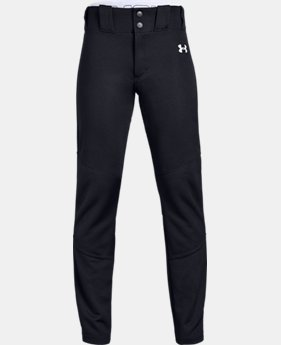 New Arrival Boys' UA IL Ace Relaxed Baseball Pants  1  Color Available $35