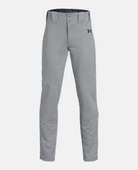 86ae41a7968686 Boys' UA Ace Relaxed Baseball Pants 3 Colors Available $35