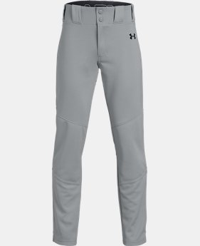 New Arrival Boys' UA IL Ace Relaxed Baseball Pants  3  Colors Available $35