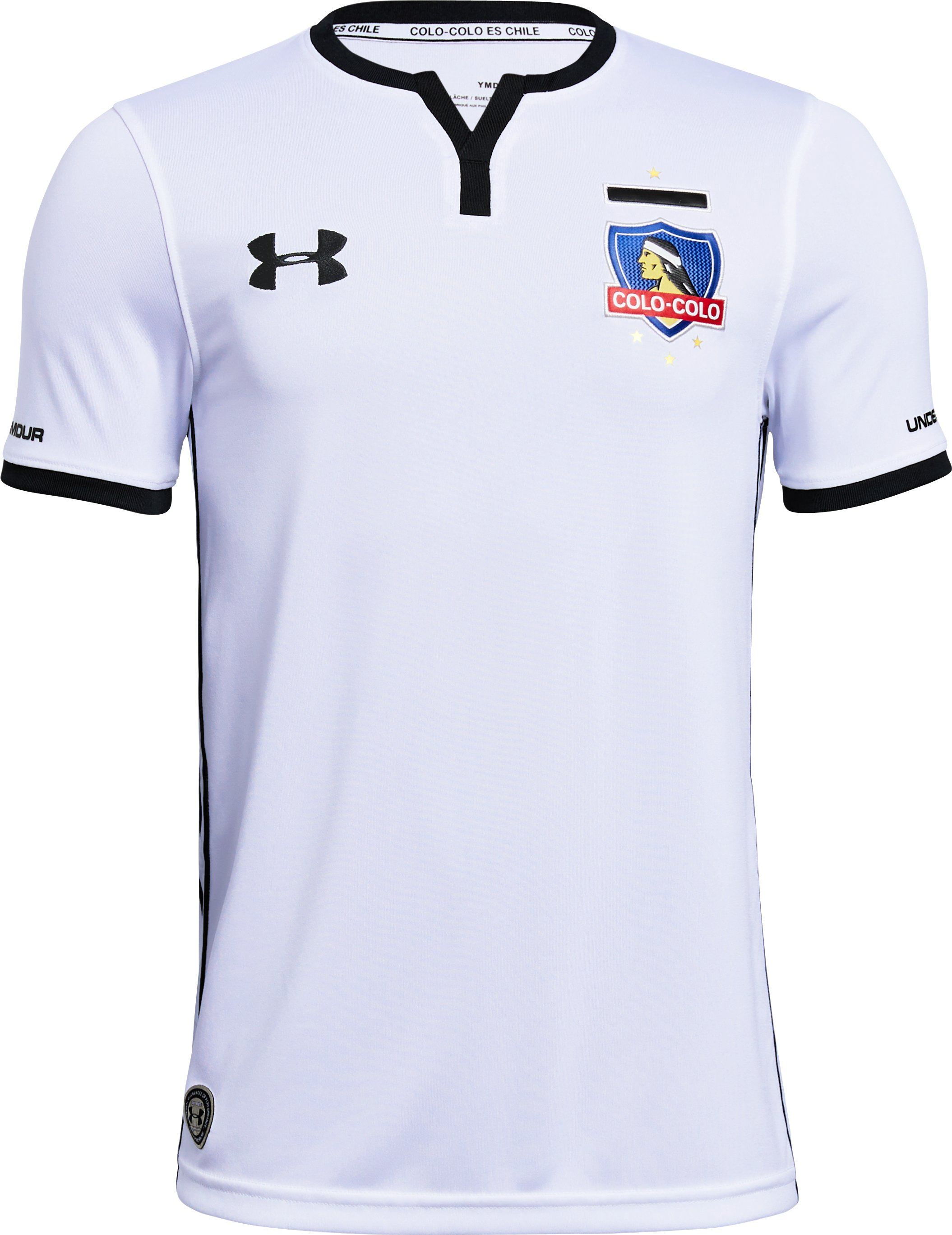 Youth Colo-Colo Replica Home Jersey, White, zoomed