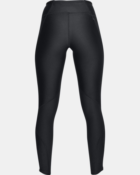 Women's UA Armour Fly-Fast Tights, Black, pdpMainDesktop image number 4