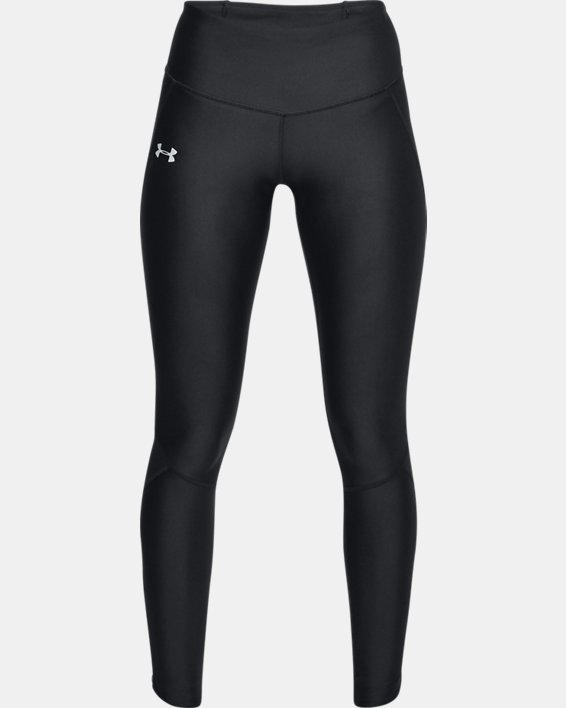 Women's UA Armour Fly-Fast Tights, Black, pdpMainDesktop image number 3