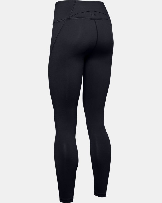 Women's UA Reflect Hi-Rise Leggings, Black, pdpMainDesktop image number 4