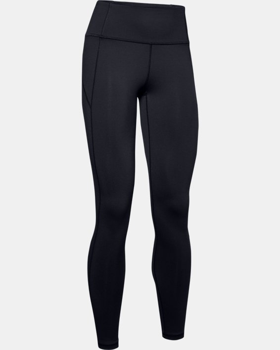Women's UA Reflect Hi-Rise Leggings, Black, pdpMainDesktop image number 3