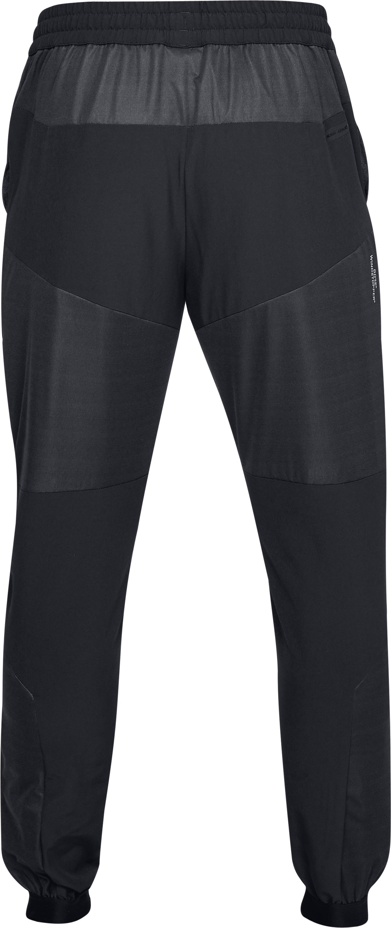 Men's UA Unstoppable GORE® WINDSTOPPER® Woven Joggers, Black , undefined