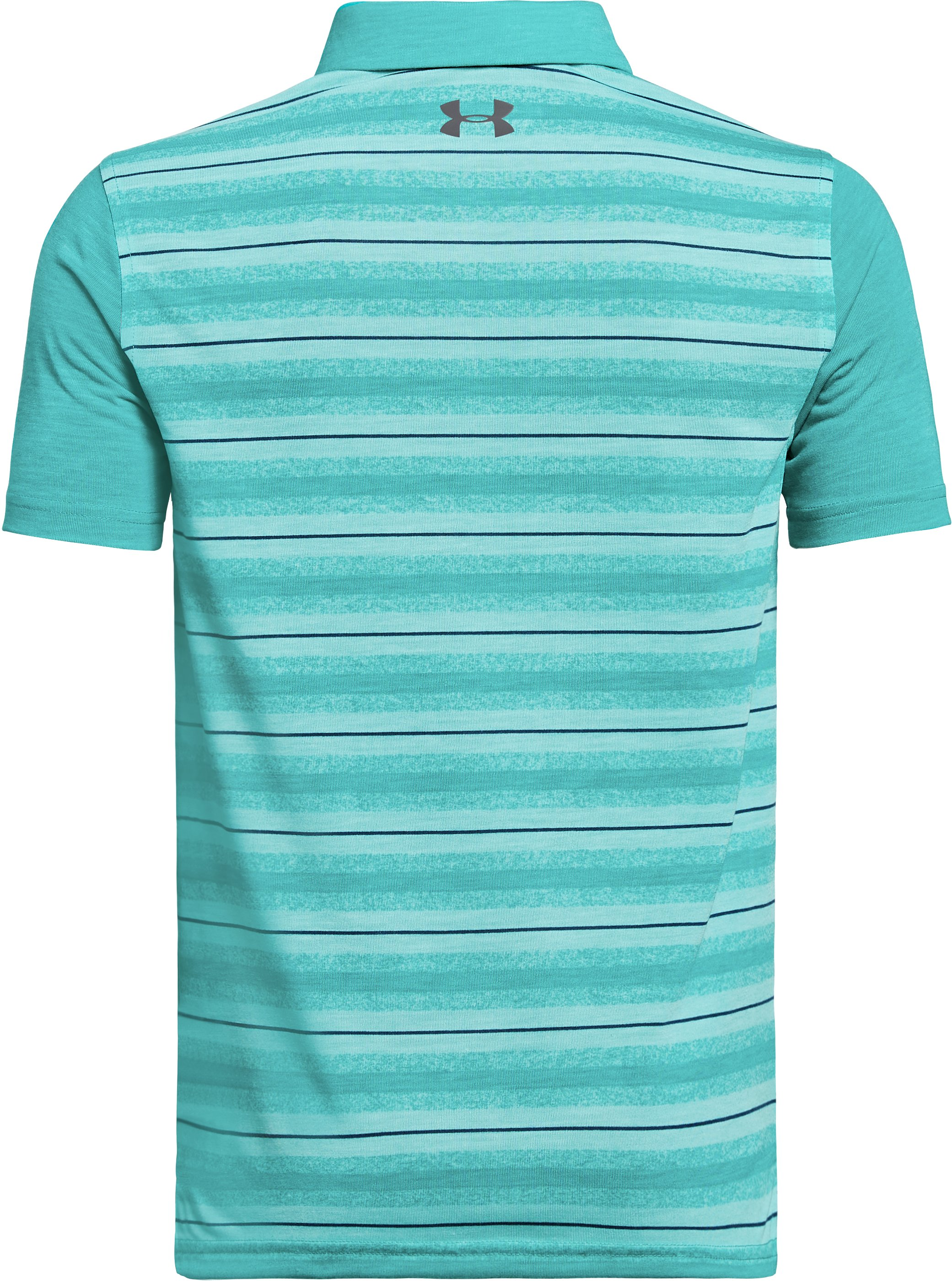 Boys' UA Threadborne JS Boundless Polo, TROPICAL TIDE,