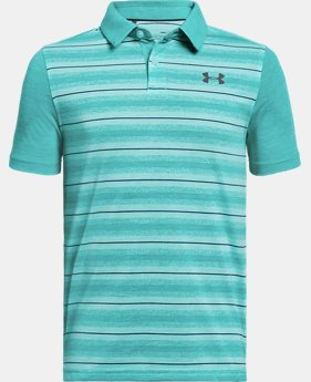 Boys' UA Threadborne JS Boundless Polo FREE U.S. SHIPPING 1  Color Available $40