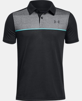 New Arrival Boys' UA Threadborne JS Infinite Polo  1 Color $40