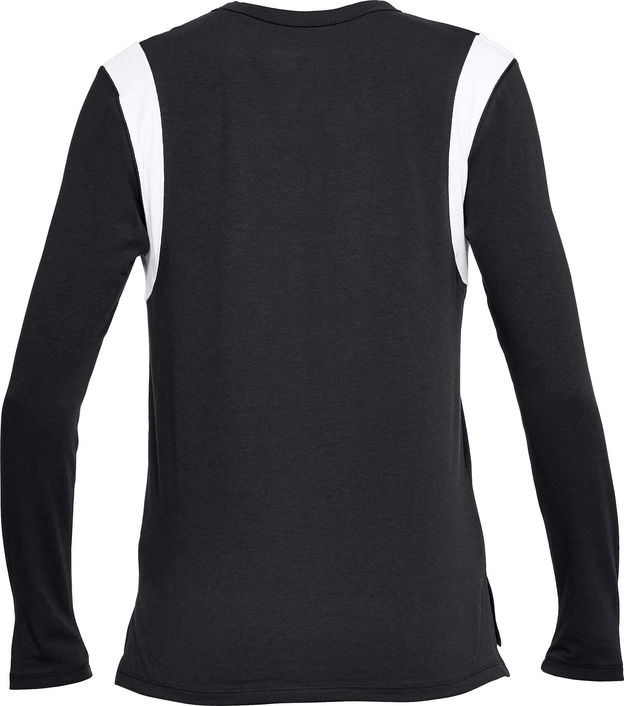 Women's UA Girlfriend Graphic Long Sleeve, Black , undefined